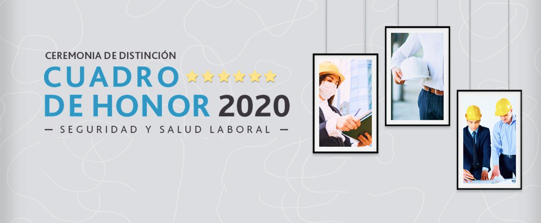 Cuadro de honor 2020