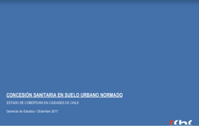 CONCESIÓN SANITARIA DE SUELO URBANO