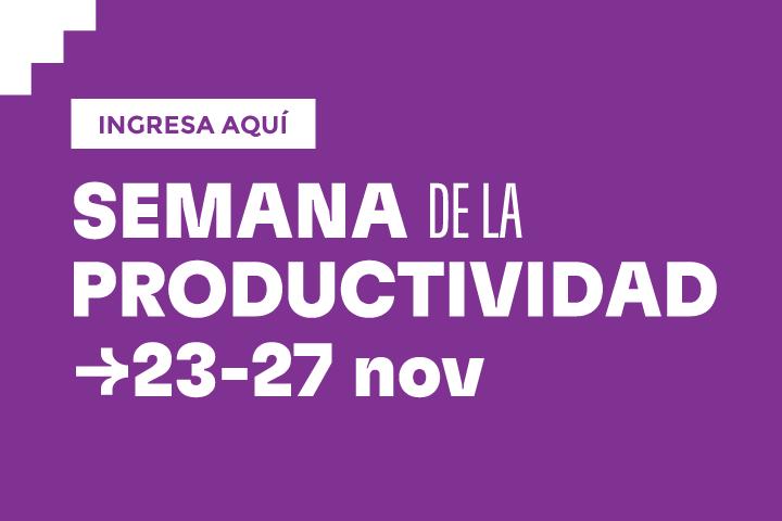 semana de la productividad  banners