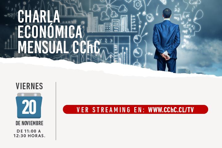 Charla Económica Mensual 20 de Noviembre  banners