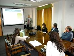 Directivos regionales se reunieron son seremi de Vivienda y <mark>Urbanismo</mark> noticias