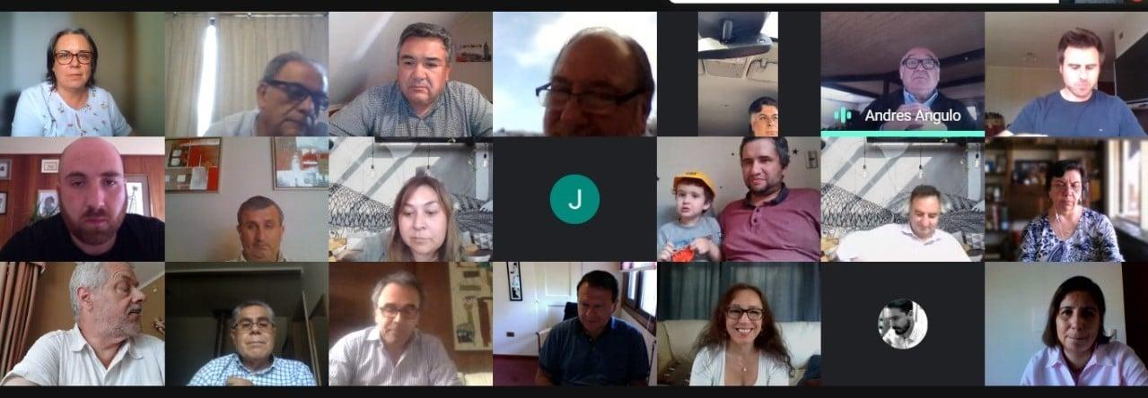Socios despiden el 2020 con actividad de camaradería virtual noticias