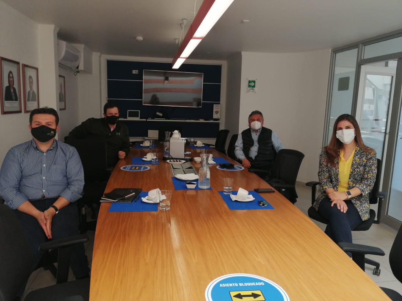 Autoridades de Mutual CChC visitan sede Calama noticias
