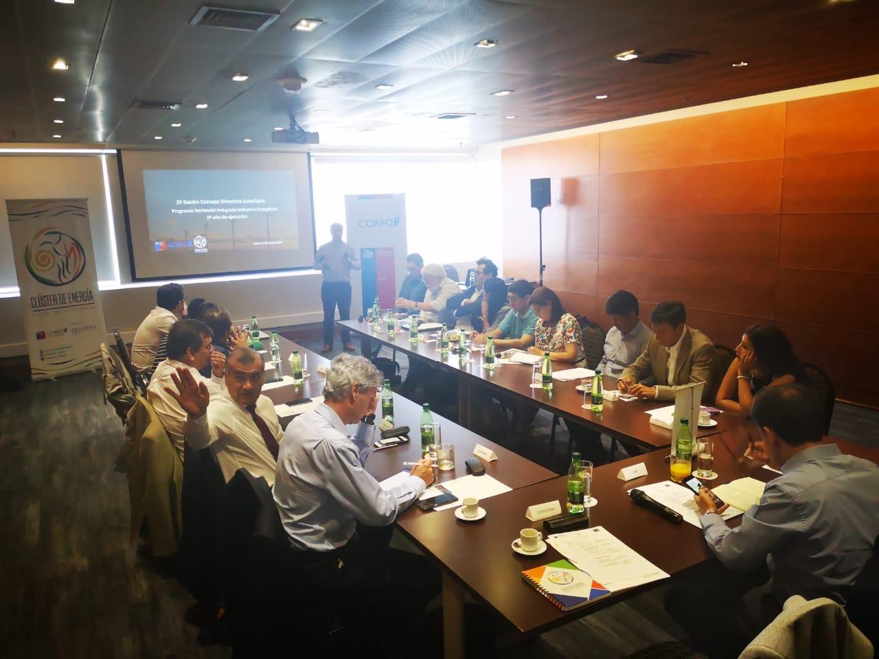 Directivos participaron en reunión del Clúster de Energía sobre avances y desafíos 2020 noticias