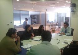 Comité de <mark>Infraestructura</mark> de la Cámara Arica se reúne con gerente de Aguas del Altiplano noticias