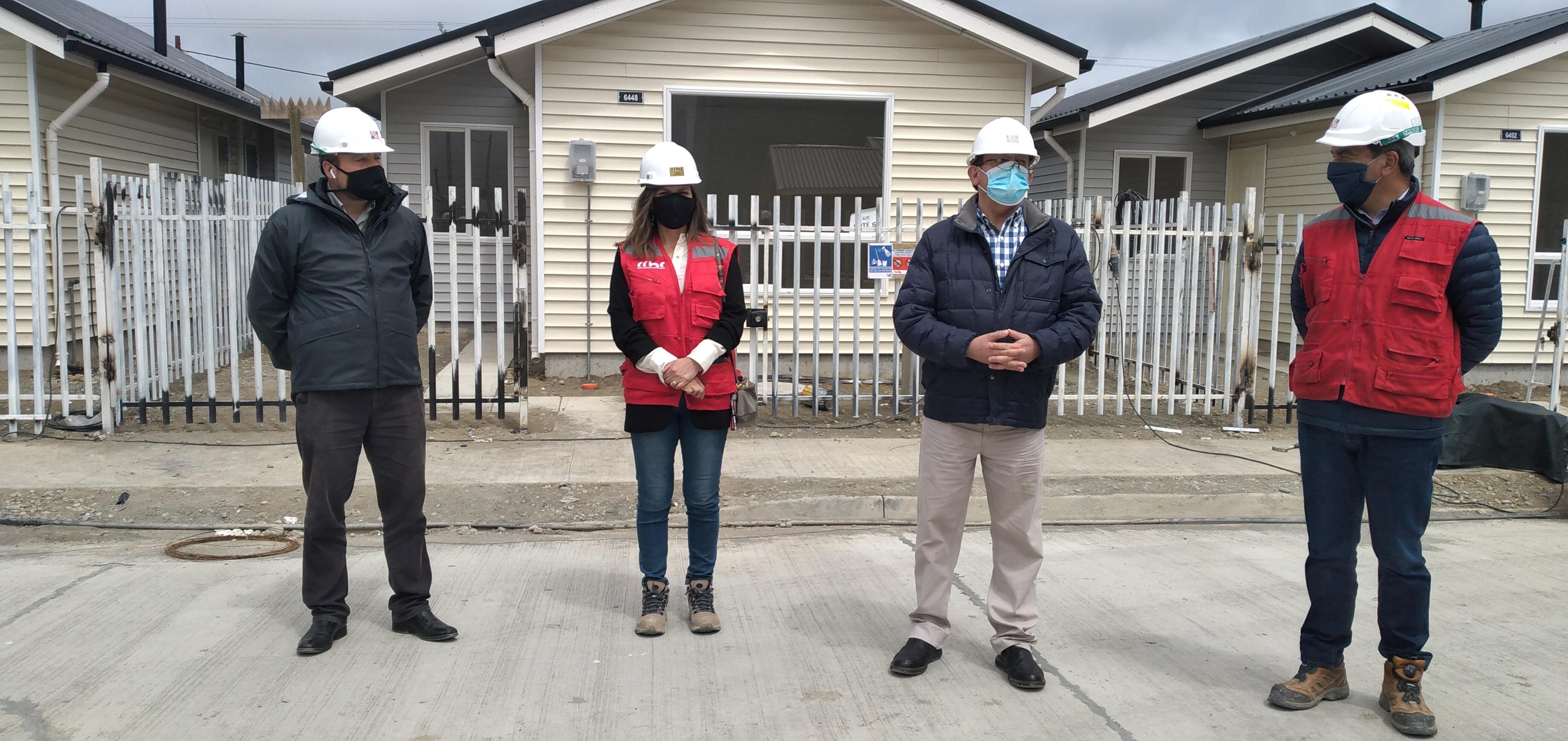 ALCALDE DE PUERTO MONTT VISITA OBRA PARA CONOCER IMPLEMENTACIÓN DE PROTOCOLOS SANITARIOS EN TERRENO noticias