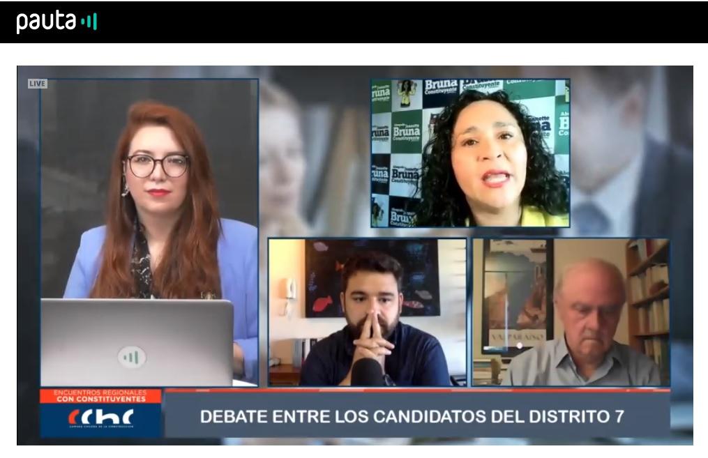 Poderes, derechos sociales, agua y descentralización fueron temas en foro de candidatos a constituyentes por distritos 6 y 7 noticias