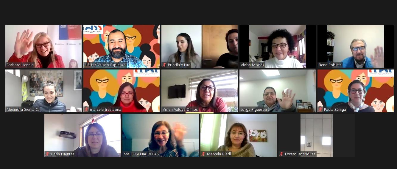 Grupo de Trabajo de Mujeres de la CChC Chillán realizó primera reunión ampliada noticias