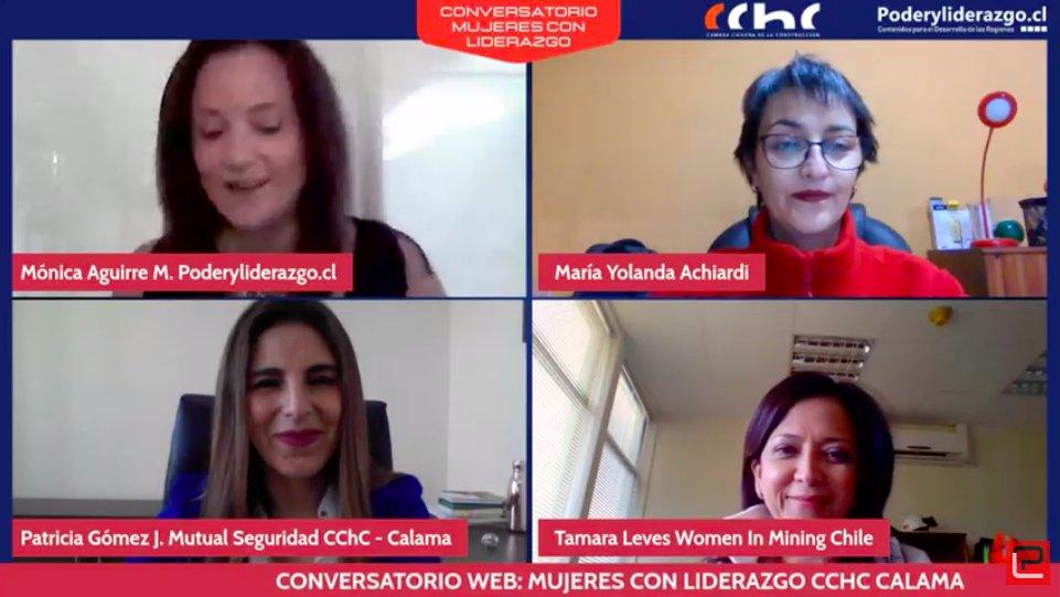 """Exitoso conversatorio web """"Mujeres con Liderazgo"""" noticias"""