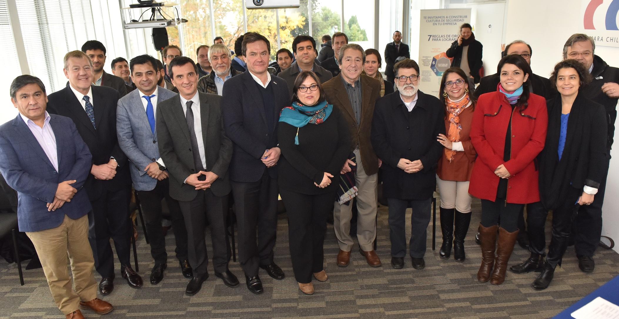 Comienza trabajo permanente entre el Gobierno Regional y la CChC para la descentralización noticias