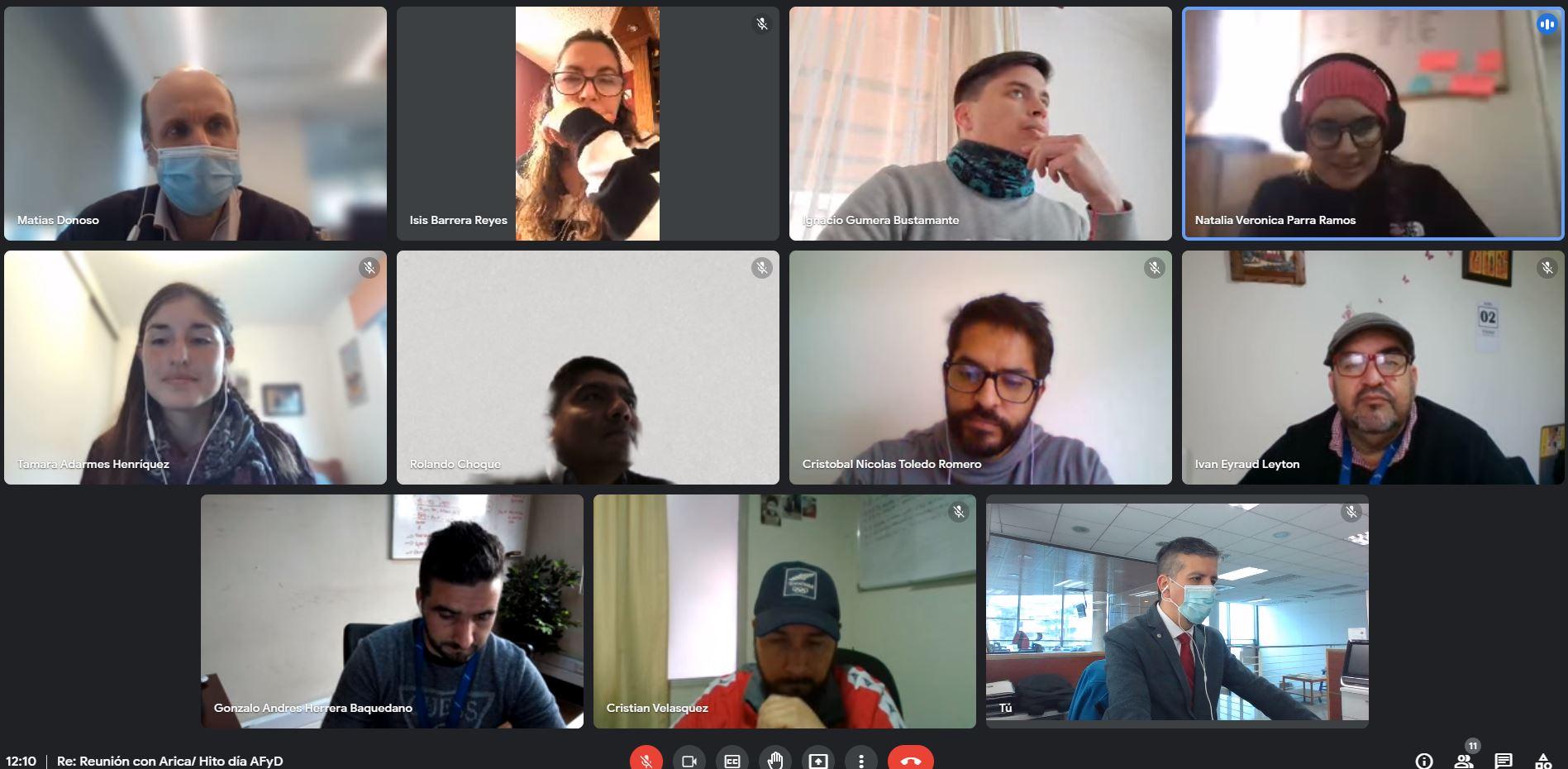 CChC Arica y Mindep coordinan actividad para promover deporte noticias
