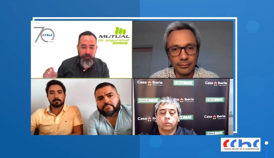 CChC Arica realiza webinar sobre seguridad laboral en la pandemia noticias