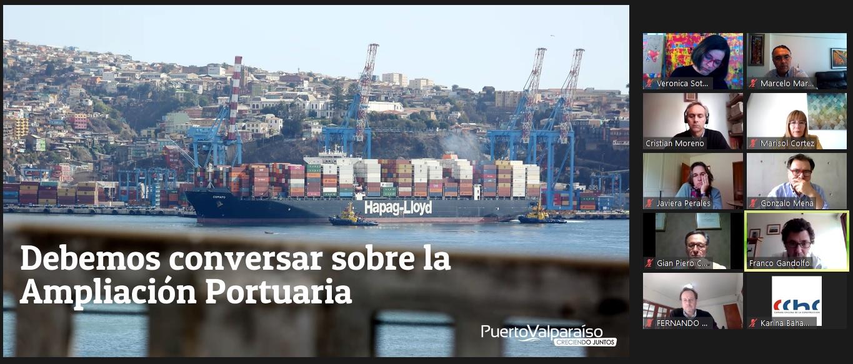 Mesa de CChC Valparaíso conoció proyectos de infraestructura de Puerto Valparaíso y compartió interés por participación ciudadana noticias