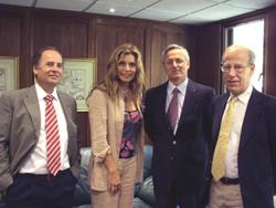 Diputada Andrea Molina visita la CChC noticias