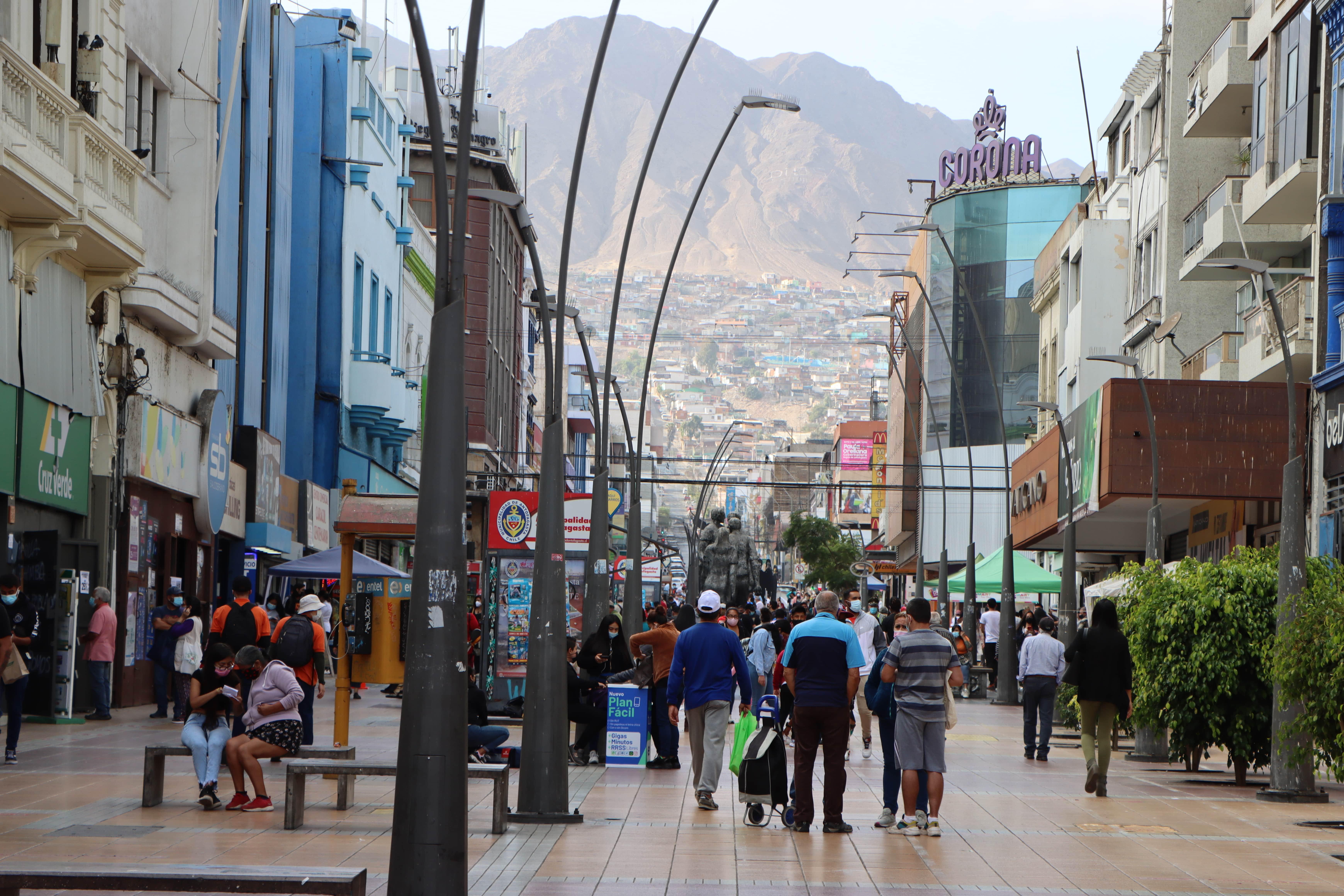 """Antofagasta: 14% de la población vive en zonas con condiciones de seguridad urbana """"críticas"""" noticias"""
