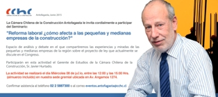 CON SEMINARIO ALMUERZO EMPRESAS PODRÁN CONOCER EFECTOS DE LA REFORMA <mark>LABORAL</mark> noticias