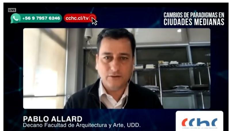 """CChC Chillán ofreció charla: """"Cambios de paradigmas en ciudades medianas"""" noticias"""