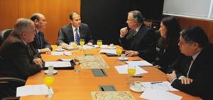 CChC y gremios locales se reúnen con intendente Díaz noticias