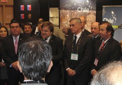 CChC presente en inauguración de Pabellón Chileno en PDAC  noticias