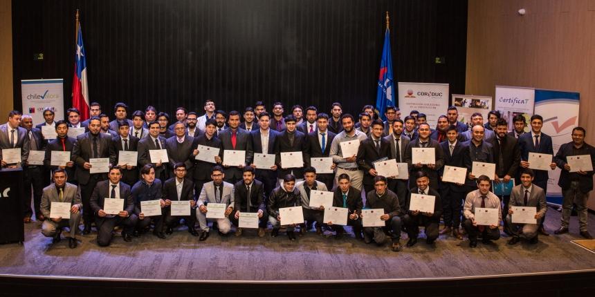 Egresados de Liceos Coreduc certificaron sus competencias laborales noticias