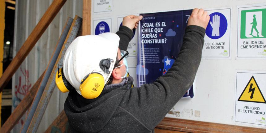 70 años CChC: En Agrícola y Forestal Bagaro se lanzó el concurso de dibujos y relatos El Chile Que Sueño  noticias