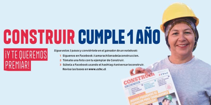 Concurso Primer Aniversario Periódico Construir noticias