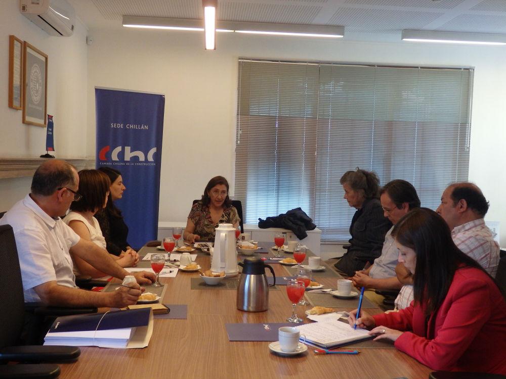 Primeros pasos da la Comisión de <mark>Urbanismo</mark> en CChC Chillán noticias