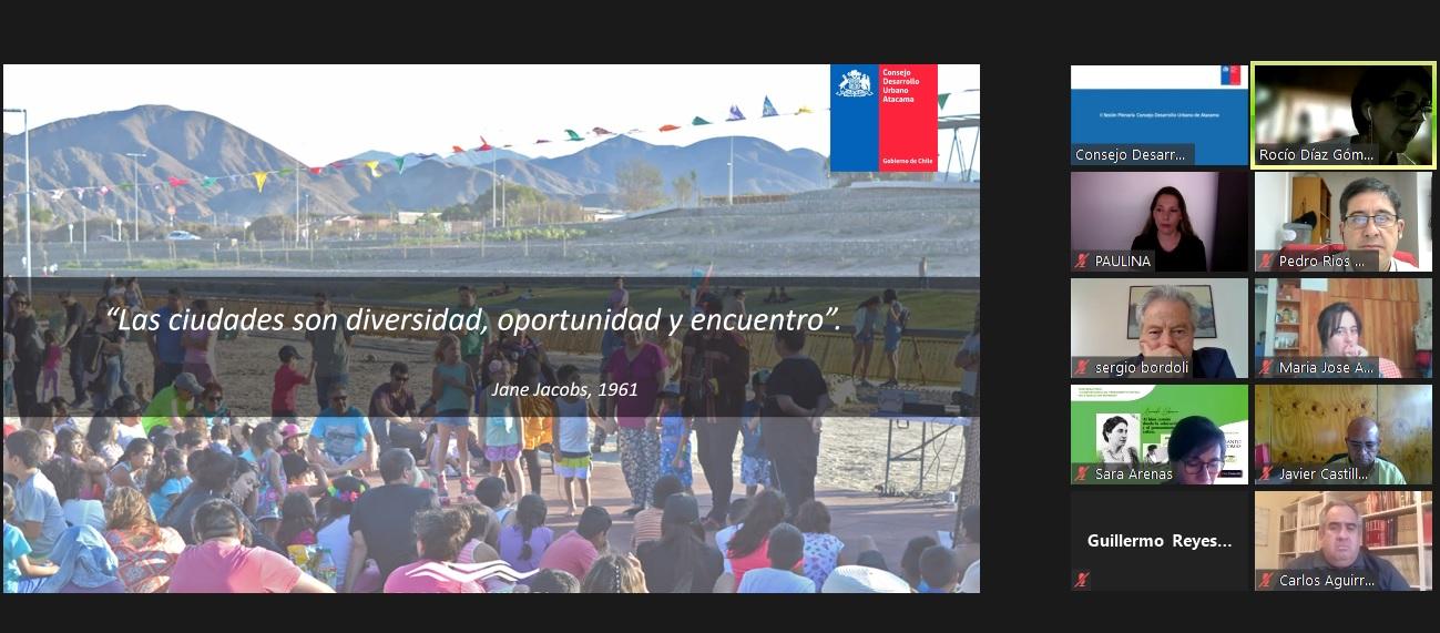 CChC Copiapó continúa fortaleciendo un trabajo colaborativo participando activamente en el Consejo de Desarrollo Urbano de Atacama noticias