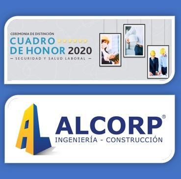 Constructora Alcorp fue reconocida en Cuadro de Honor CChC 2020 noticias