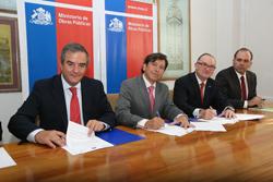 CChC, Mutual y MOP firmaron convenio de seguridad laboral noticias