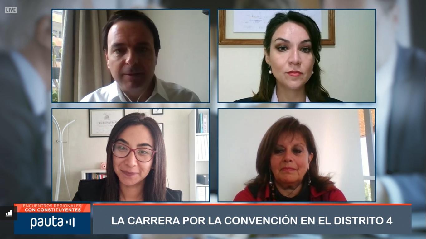 Candidatas a la Convención Constitucional por el Distrito 4 debatieron en foro organizado por Radio Pauta y la CChC Copiapó noticias