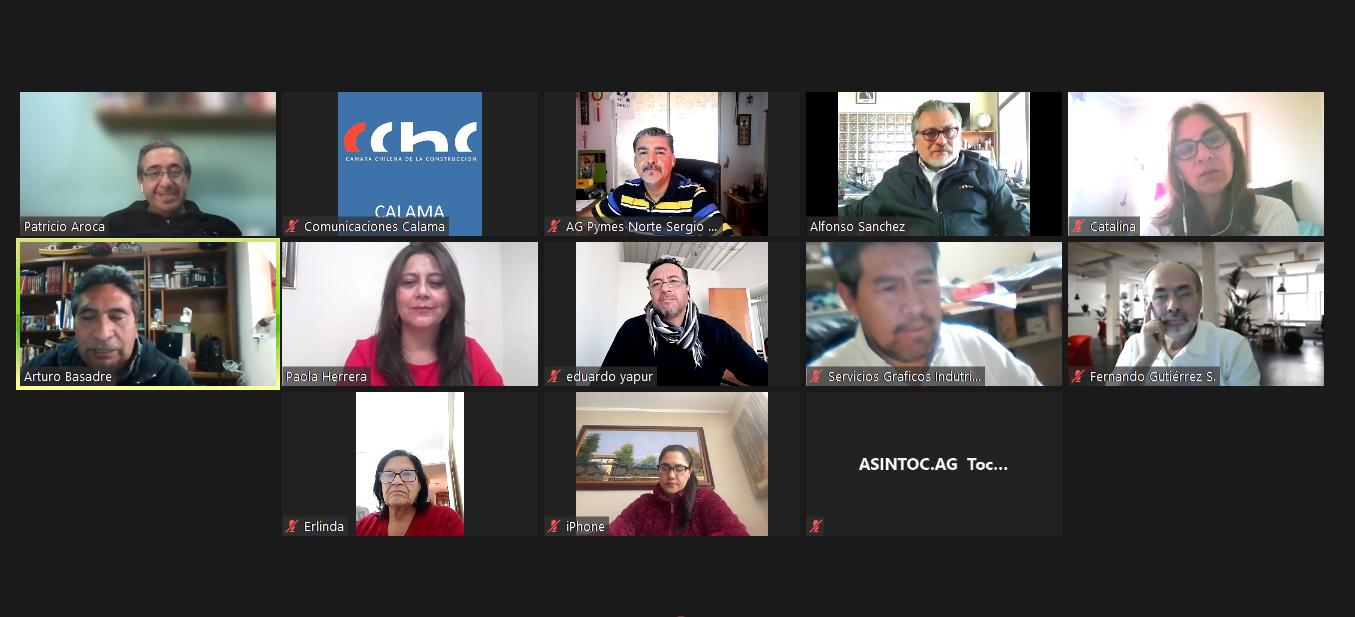 """CChC Calama y AG Pymes participan en conversatorio """"Desarrollo Territorial, Minería y Región de Antofagasta"""" noticias"""