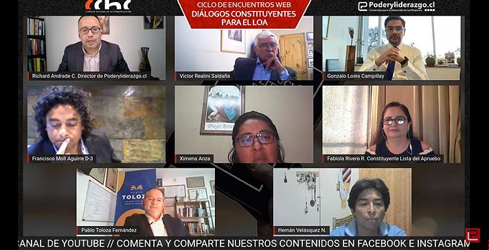 """Inicia ciclo de encuentros web """"Diálogos Constituyentes para El Loa"""" noticias"""