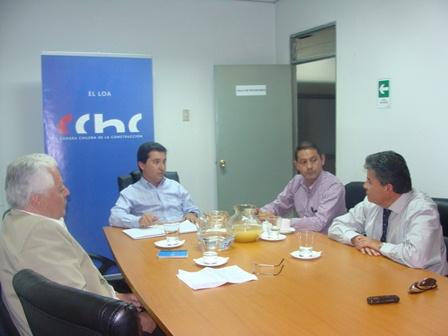 Directivos de El Loa se reúnen con Diputado Espinosa noticias