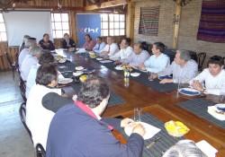 Productiva Reunión con Presidentes Comités área <mark>Infraestructura</mark> noticias