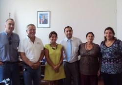 El Consejo Regional se reune con la Gobernadora Ximena Valcarce. noticias