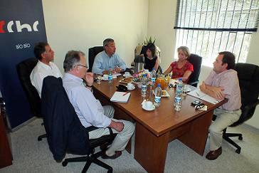 Director Nacional Sur y Presidentes Regionales, se reúnen en CChC Bio Bio noticias