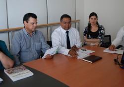 Socios participan en reunión sobre manejo de áridos en el río Elqui noticias