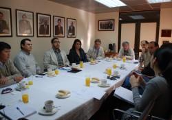 Comité de <mark>Infraestructura</mark> se reúne con la Comisión de Áridos noticias