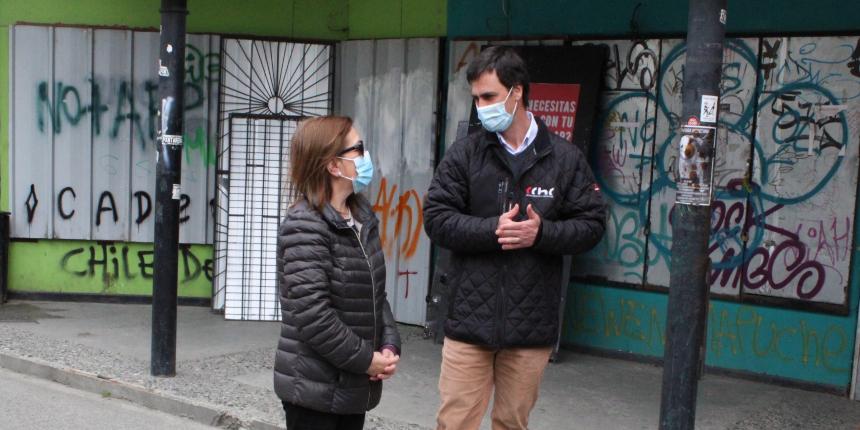 CChC Punta Arenas dona $3 millones para renovación de fachadas de locales céntricos noticias