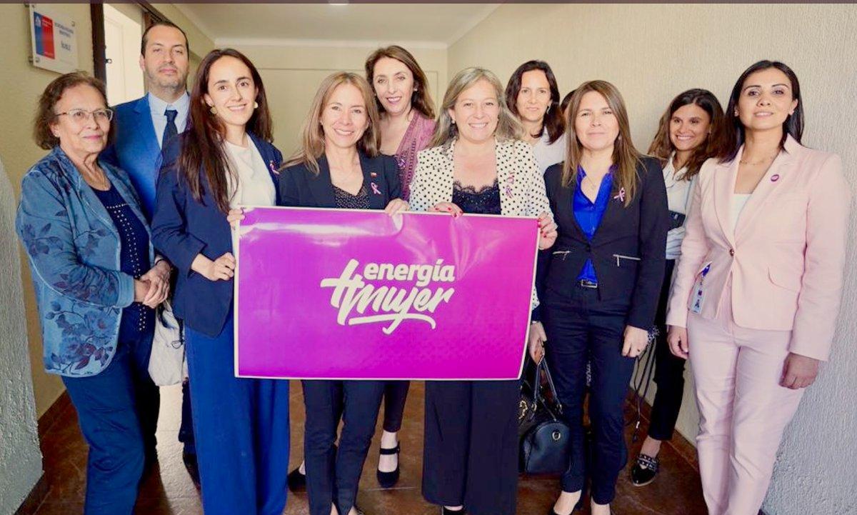 CChC Chillán participó en mesa Energía Mujer noticias