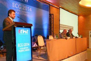 Debatiendo sobre energía en el Encuentro de Contratistas Generales CChC noticias