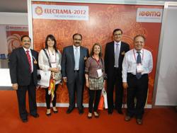 Delegación CChC visita feria en la India noticias