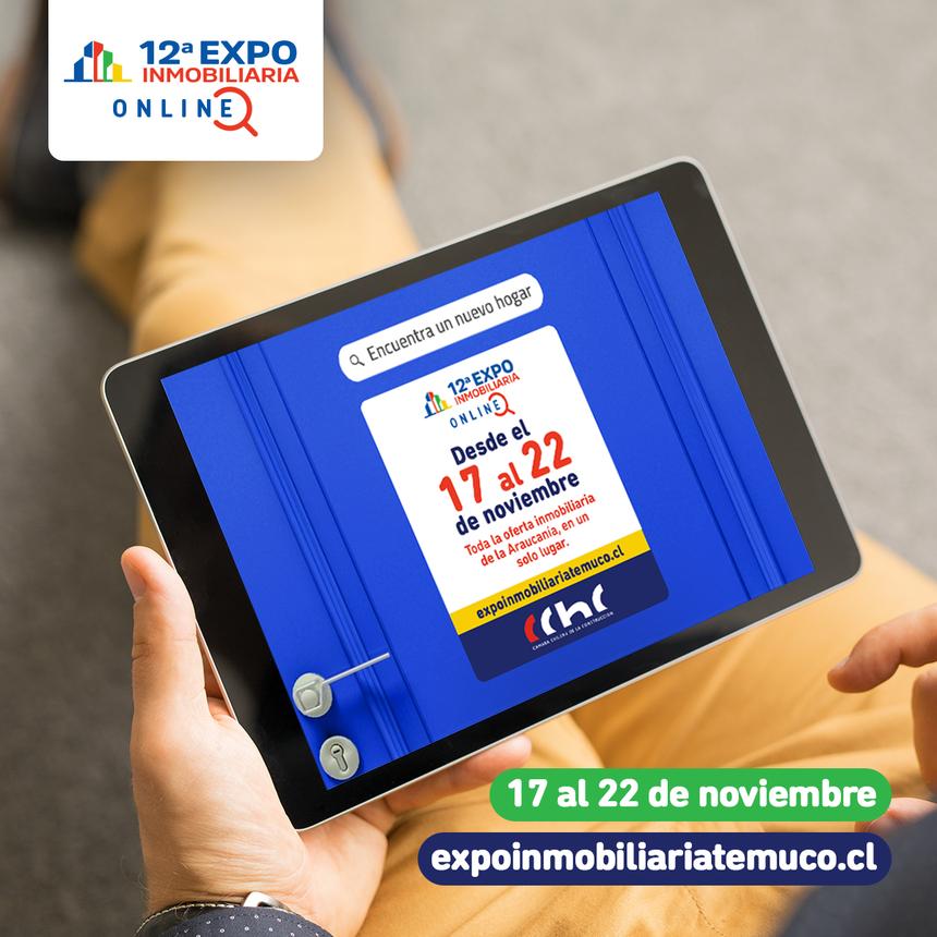 12va versión de la Expo Inmobiliaria de Temuco será online noticias