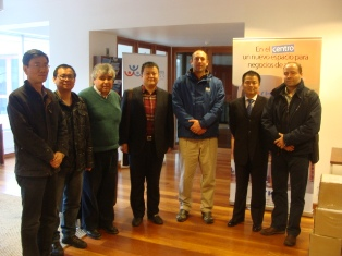 Empresarios chinos se reunieron con la Mesa Directiva Regional noticias