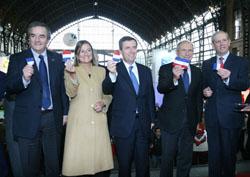Presidente Escala presente en Inauguración de ExpoVivienda noticias