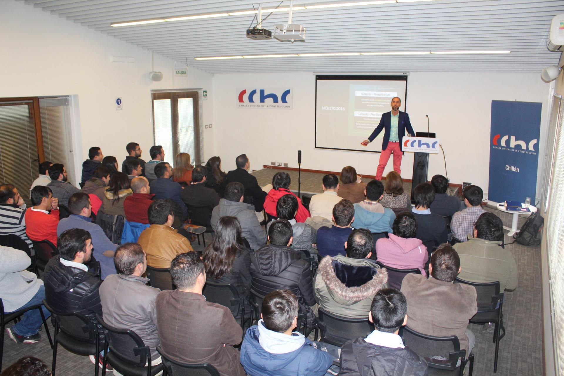 Comité de especialidades realizó seminario sobre actualización de Norma NCH 170 en Chillán noticias