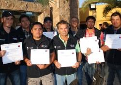 214 trabajadores del sector construcción fueron certificados por competencias laborales  noticias