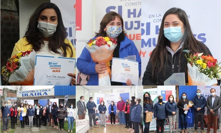 CChC Chillán premió a mujeres de empresas socias por destacado desempeño en área de la construcción noticias