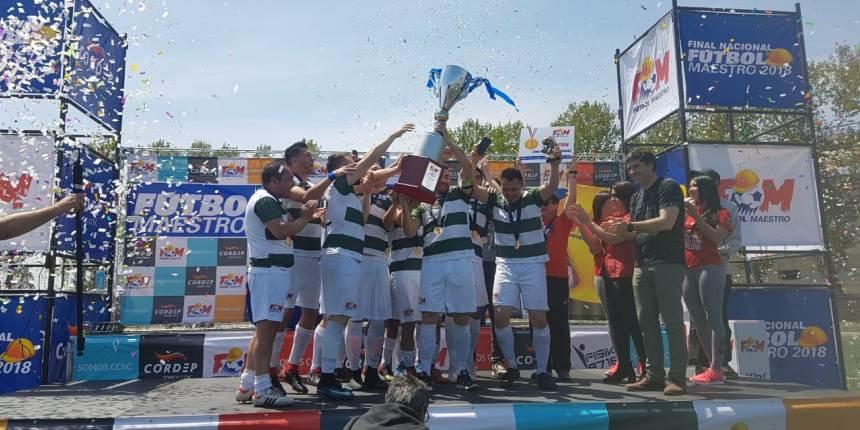 Carlos García Gross de Temuco se quedó con el título del torneo Fútbol Maestro 2018 noticias